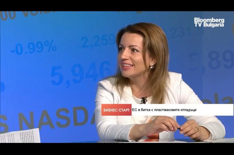 Заместник-министър Ренета Колева за предстоящите промени в новата европейска директива за забрана на пластмасовите продукти за еднократна употреба - 01
