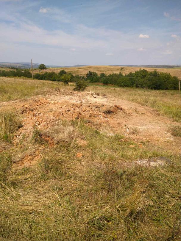 Снимка от работите по изваждане на пестицидите от обекта край село Радомирци - 11