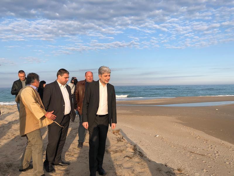 Министър Димов: По ОПОС се отпускат 5 млн. лв. за Шабленското и Дуранкулашкото езеро - 01