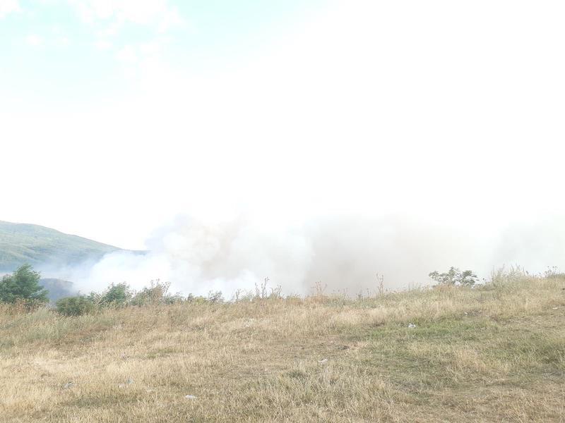 Самозапали се сметището в местността Злево край Дупница - 6